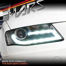 Audi A4 B8 Led Lights Retrofit Real Drl Dual Beam Projector Head Lights For Audi A4 S4 B8