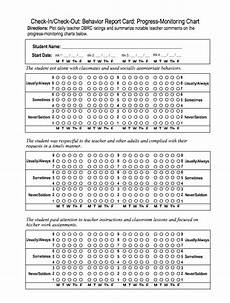 Check In Check Out Chart Check In Check Out Strategies For Students