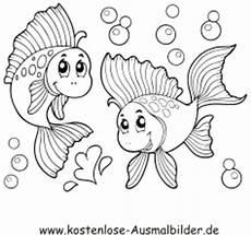Window Color Malvorlagen Fische Kostenlos Ausmalbild Fische Im Wasser Zum Ausdrucken
