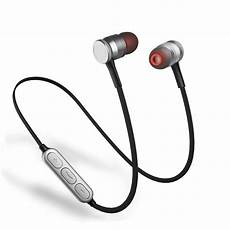 Bluetooth Professional Magnetic Wireless Earphone by Magnetic Wireless Sport Bluetooth Mic Stereo Headphone