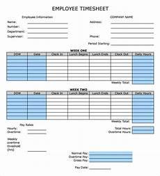 Employee Time Card Sample Sample Employee Timesheet Calculator 11 Documents In
