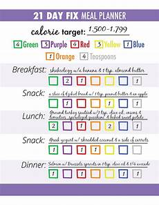 21 Day Fix Chart 3 Steps For Successful 21 Day Fix Meal Planning The