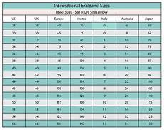 Bra Measurement Chart Bra Size Conversion Chart Breakout Bras