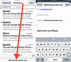 Iphone Email How To Minimize Amp Maximize Emails In Mail App On Iphone