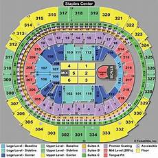 Seating Chart Penguins Game Seating Chart With Rows For Concerts Staples Center