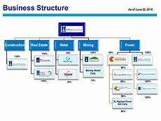 Business Structure Chart Dmci Holdings Inc