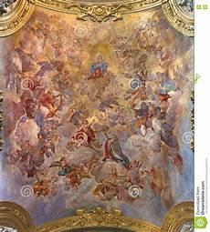 rome italy march 9 2016 the vault fresco assumption