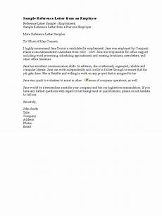 Letter Of Reference Example 9 Reference Letter For Employment Examples Pdf Examples