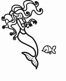 Malvorlagen Meerjungfrau Quiz Kostenlose Malvorlage M 228 Rchen Meerjungfrau Mit Fisch Zum