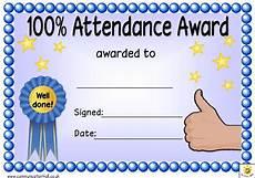 100 Attendance Certificate Template 100 Attendance Award Certificate Template Download