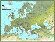 Geographic Map Europe Physical Atlas Wall Map Maps Com