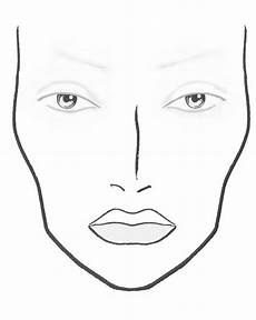 Brown Face Chart Blank Plastic This Mac Face Chart Everyone Wants Croqui