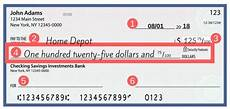 Filled Out Check How To Write A Check A Step By Step Guide To Filling One Out
