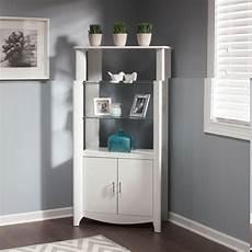 aero white 2 door library storage from bush my16192