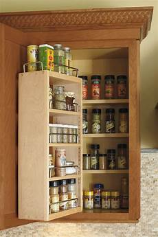 wall spice rack cabinet schrock cabinetry