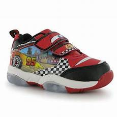 Disney Character Light Up Shoes Boys Disney Cars Light Up Trainers Novelty Characters