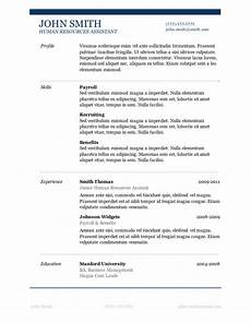 Easy Resume Template Word 89 Best Yet Free Resume Templates For Word Designzzz