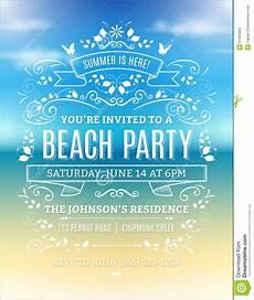 Beach Party Invitation Wording Free Beach Party Invitations Beach Party Invitations