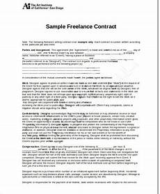 Freelance Contract 12 Freelance Contract Templates Word Pdf Free