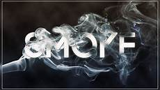 Smoke Font Free Download Photoshop Tutorials Smoke Text Effect With Brush Youtube
