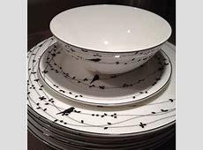 New Everyday Dinnerware Bone China Ciroa Oiseau The