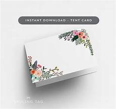 letter size tent card template printable wedding place cards printable tent card version