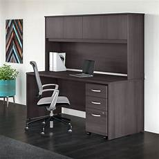 shop studio c 72w office desk with hutch and mobile file