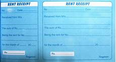 Rent Receipt India No More Fake Receipts For Claiming Deduction For House