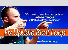 Fix Windows Update Boot Loop, Windows 10, 8.1, 8, 7, vista