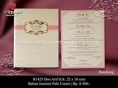 kartu undangan 8500 10 unique card wedding invitation