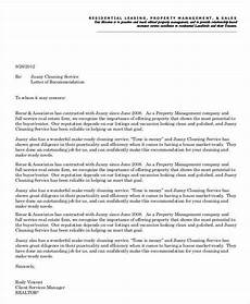 Letter Of Recommendation Landlord Free 6 Sample Landlord Recommendation Letter Templates In