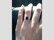 Does anyone have the Blue Nile Luna Seven Stone Diamond