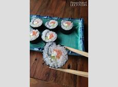 Philadelphia Roll Sushi Recipe with Step by Step Sushi