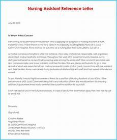 Sample Letter Of Recommendation For New Graduate Nurse Nursing Reference Recommendation Letters 9 Samples