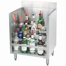 advance tabco crlr 12 stainless steel liquor display