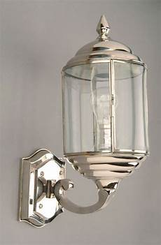 Art Deco Outdoor Wall Lights Wentworth Art Deco Style Polished Nickel Outdoor Wall