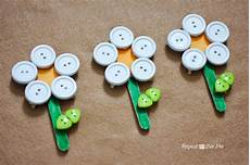 repeat crafter me button clothespin flowers