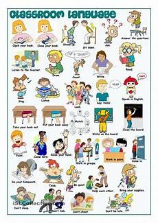 English Language Charts For Classroom 03 Classroom Language Sec Mr English Classroom