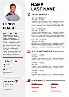 Football Coach Cv Template Sport Amp Coaching Resume Sample Free Download Cv Templates