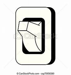Light Switch Cartoon Images Light Switch Isolated Cartoon Symbol In Black And White
