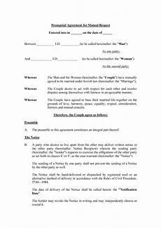 Prenuptial Agreement Templates 30 Prenuptial Agreement Samples Amp Forms ᐅ Templatelab