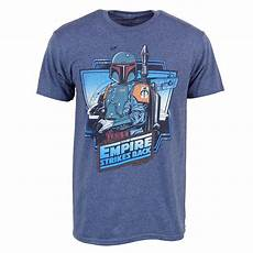 wars clothes for mens boba fett wars the empire strikes back t shirt blue