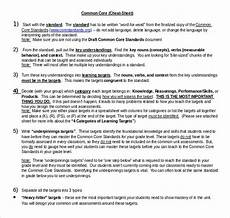 Cheat Sheet Template Word 9 Common Core Cheat Sheet Pdf Word Free Amp Premium