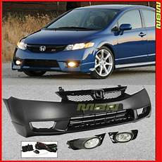 2007 Honda Civic Si Lights 06 11 For Honda Civic Si Style Complete Kit Front Bumper