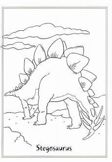 Lustige Dino Ausmalbilder N Ausmalbild Dinosaurier 2 Stegosaurus Kita