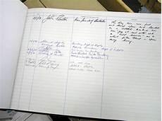 Visitor Signing In Book Honeysuckle Creek