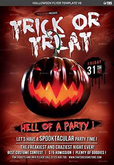Free Halloween Flyer Template Halloween Flyer Template V6 By Lou606 Graphicriver