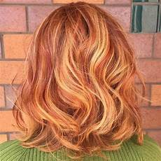 Light Brown Hair With Strawberry Highlights 60 Stunning Shades Of Strawberry Hair Color