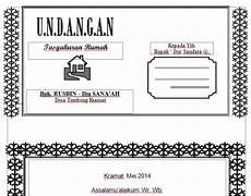 download contoh undangan tasyakuran word harga undangan