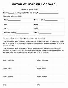 Letter Of Sale Car Printable Sample Auto Bill Of Sale Form Bill Of Sale Car